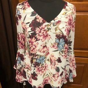 White House Black Market size 0 blouse NWT